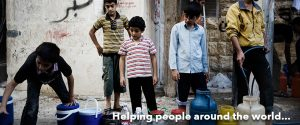 Helping people around the world
